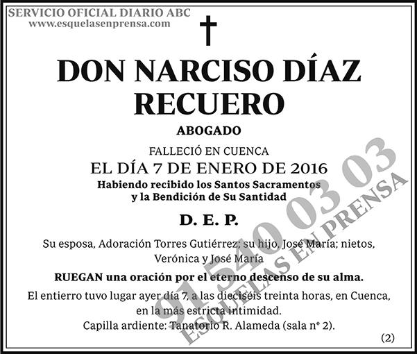 Narciso Díaz Recuero